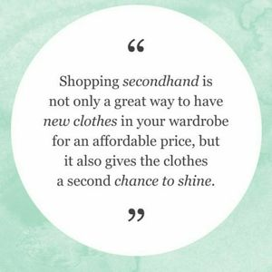 🌱 Shop Secondhand! 🌱
